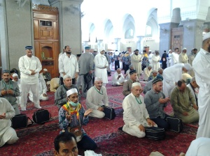 Masjid Quba di Dalam