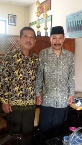 Dengan bapak Drs.H.Makinudin, M.Pd. Pontianak
