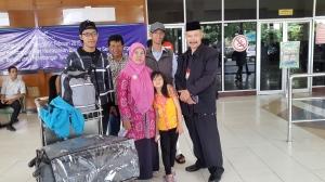 Mengantar mas Sulthon ke Bandara